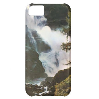 Österrike vattenfall i det Salzburg området iPhone 5C Fodral