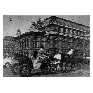 Österrike Wien Fiaker Staatsoper opera 1970