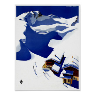 Österrike Wunschheim återställd vintage Poster