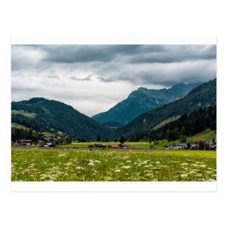 Österrikisk alperna vykort