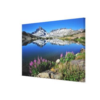 Östlig Sierra berg Canvastryck