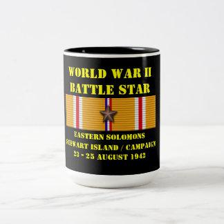 Östlig Solomons (den Stewart ön) kampanj Kaffe Mugg