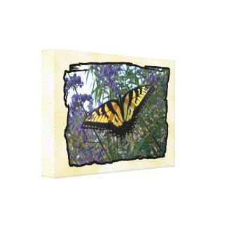Östlig tigerSwallowtail fjäril Canvastryck