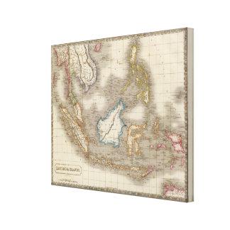 Östliga indiska öar canvastryck