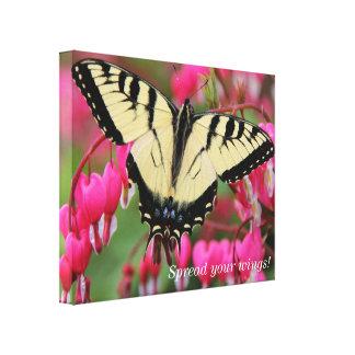 Östliga Swallowtail Canvastryck