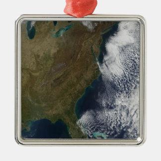 Östliga United States 2 Julgransprydnad Metall