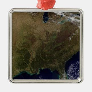 Östliga United States 3 Julgransprydnad Metall