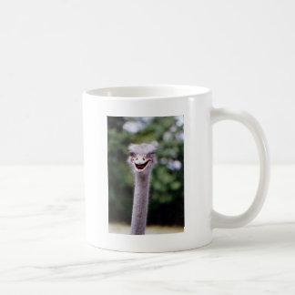 Ostrich som blinkar - som är rolig kaffemugg