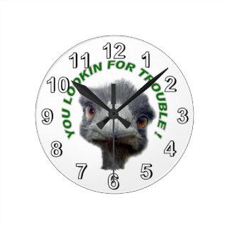 Ostrichen besvärar rund klocka