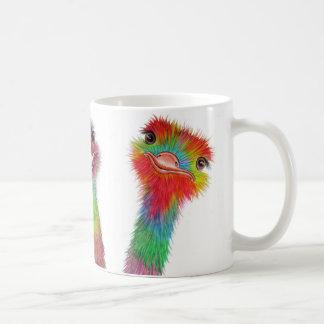 Ostrichmugg Kaffemugg
