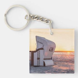 Ostsee solnedgång