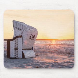 Ostsee solnedgång mus mattor