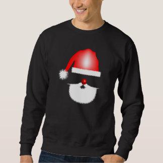 Osynlig jultomten långärmad tröja