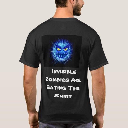 Osynliga Zombies äter denna skjorta T Shirt