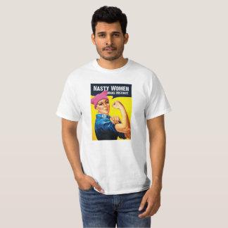 Otäcka kvinnor gör historia t-shirt