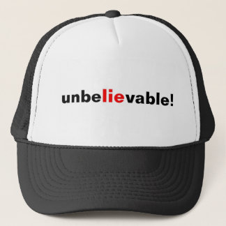Otroligt ljuga för hattmanar för baseballmössan keps
