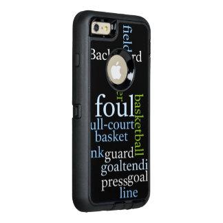 OtterBox Apple för full domstol för basket OtterBox Defender iPhone Skal