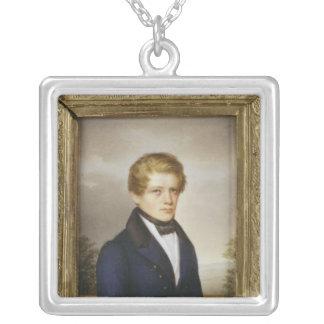 Otto von Bismarck som en student, 1833 Silverpläterat Halsband