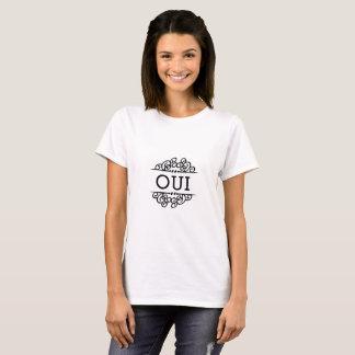 OUI-fransyska T-tröja Tee Shirt