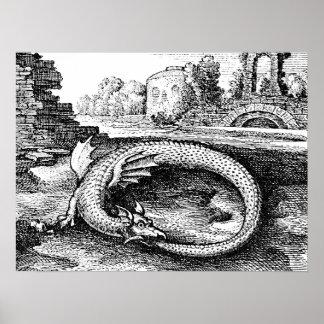 Ouroboros drake poster