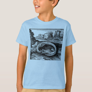 Ouroboros drake - utslagsplatsskjorta t-shirt