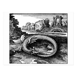 Ouroboros drakegåvor - vykort