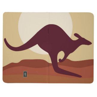 Outback känguru anteckningsbok
