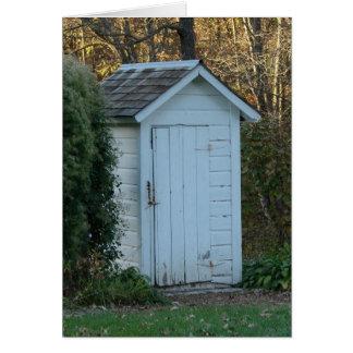 Outhouse Hälsningskort