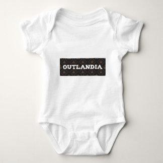 Outlandia royalbakgrund tee shirt