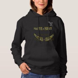 Öva den Hooded tröjan för tennistennis T-shirts