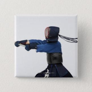 Öva för Kendo fäktare Standard Kanpp Fyrkantig 5.1 Cm