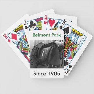 Öva ryttare sadel spelkort