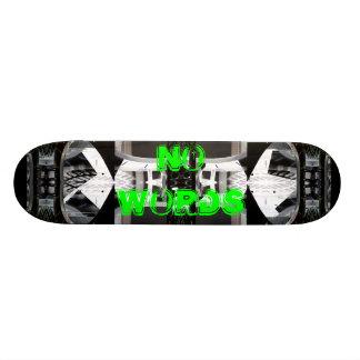 Ovanlig Skateboard ingen ord 5 CricketDiane