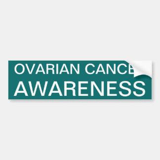 Ovarian cancermedvetenhet bildekal