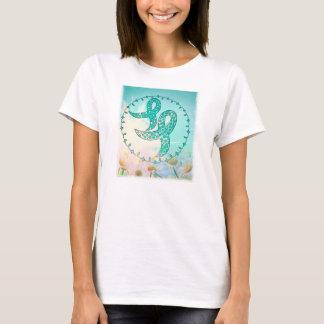 Ovarian cancermedvetenhet tee shirt