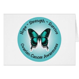 Ovarian cancermedvetenhetnotecard OBS kort