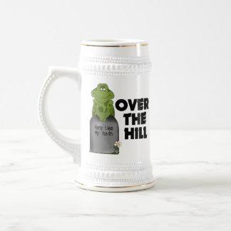 Över backegravstenen kaffe mugg