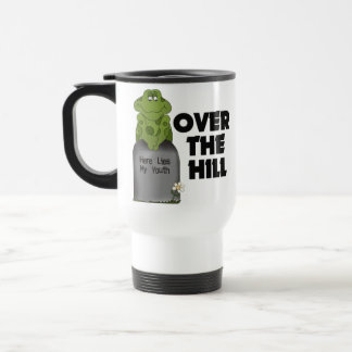 Över backegravstenen kaffe muggar