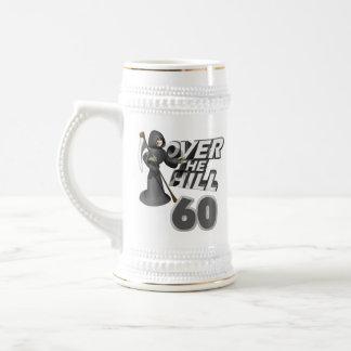 Över den 60th födelsedaggåvan för backe ölkrus