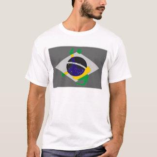 Över huvudet cykelspark för brasiliansk fotboll tröjor