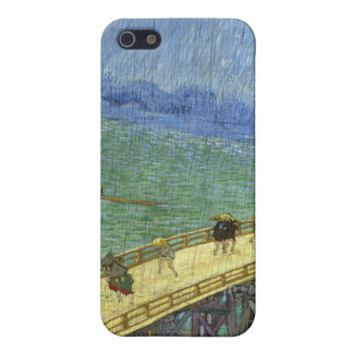 Överbrygga i regna (efter Hiroshige) Van Gogh iPhone 5 Cover