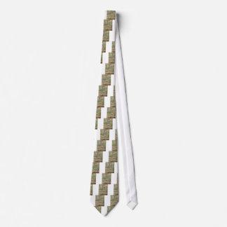 Överbrygga över ett damm av näckrosor slips