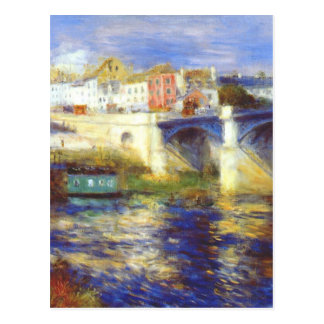 Överbrygga på chatouen vid Pierre-Auguste Renoir Vykort
