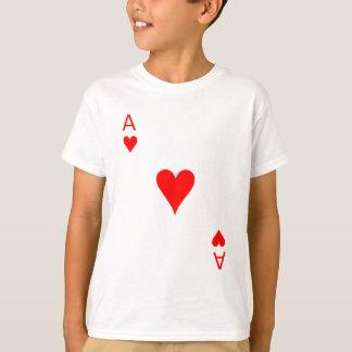 Överdängare av hjärtor (bekläda), t shirt
