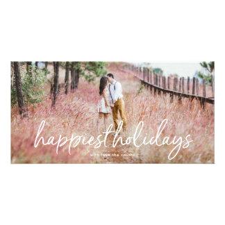 Överdra att märka det mest lyckliga fotokort