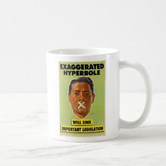 Överdriven Hyperbolemugg Kaffemugg