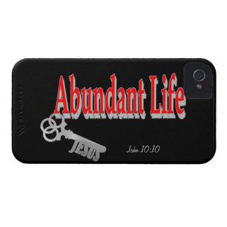 Överflödande liv: Nyckeln - v1 (den John 10:10) iPhone 4 Case-Mate Fodral