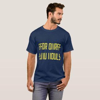ÖVERFÖR det NAKENSTUDIE/hidden meddelandet T Shirts