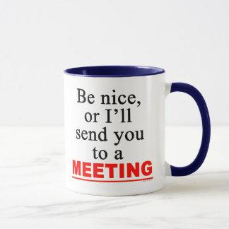 Överför dig till en sarkastisk kontors humor för mugg