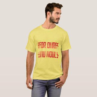 ÖVERFÖR NAKENSTUDIER/det hemliga meddelandet T Shirts